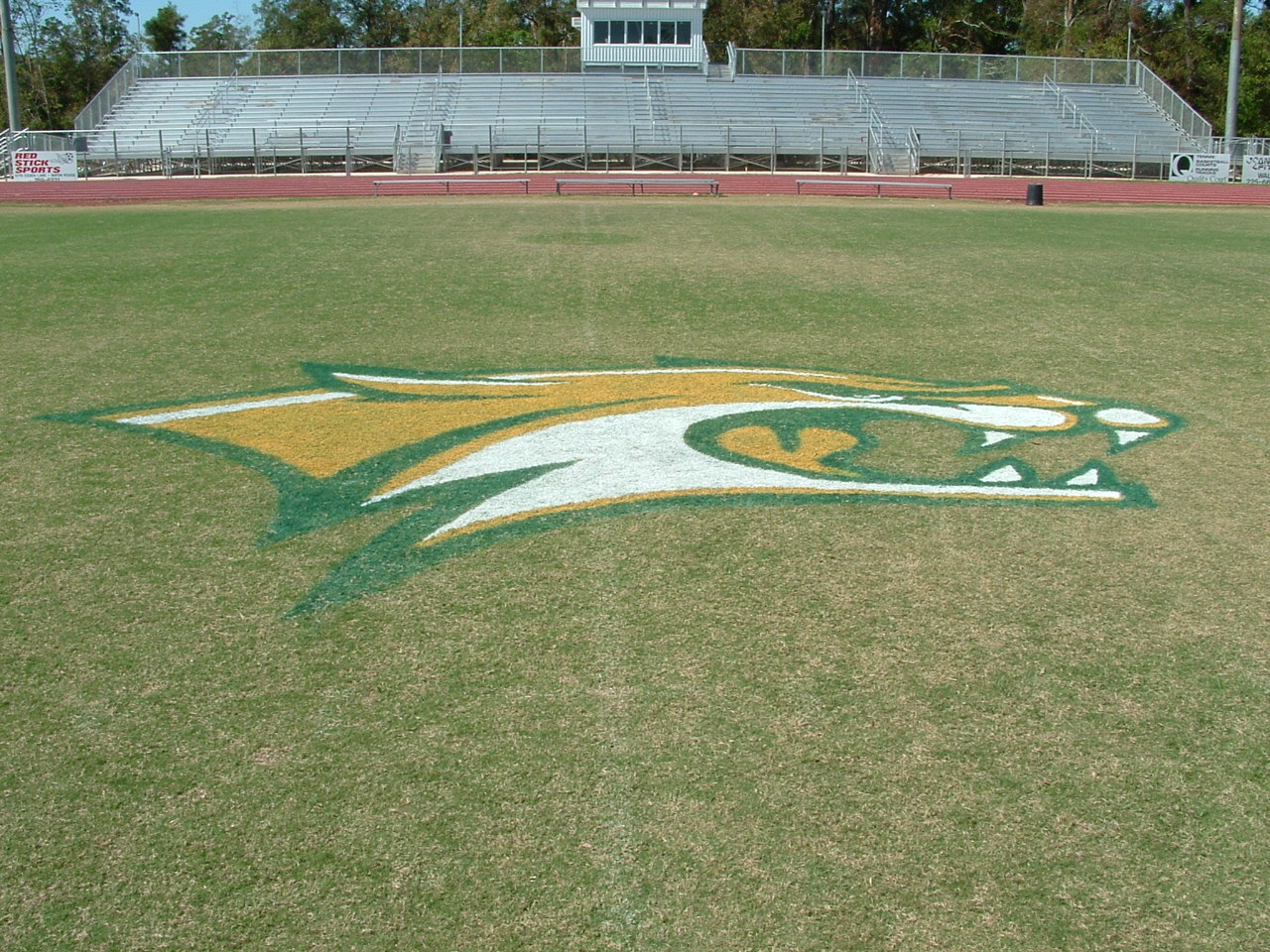 football field stencils and mid field logos home